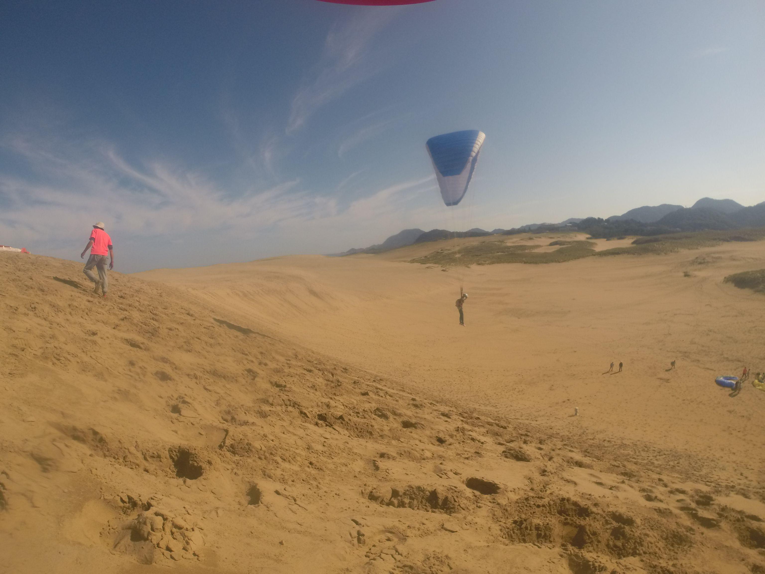 ご近所の鳥取砂丘で生まれて初めて空を飛んでみる
