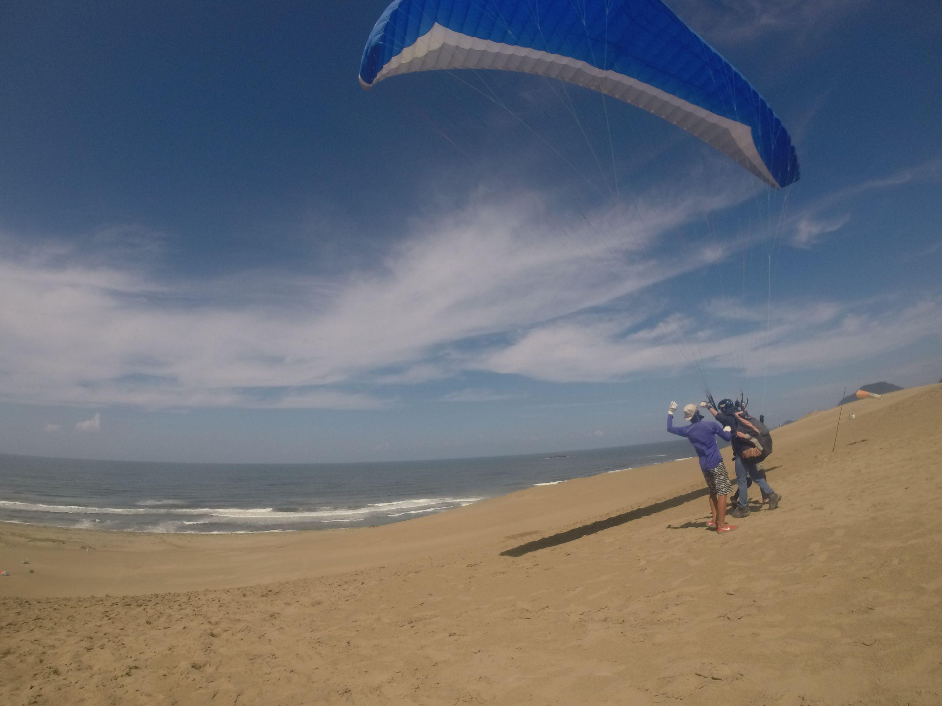 やや風速アップしましたが、追い風飛行でゆるりフライト