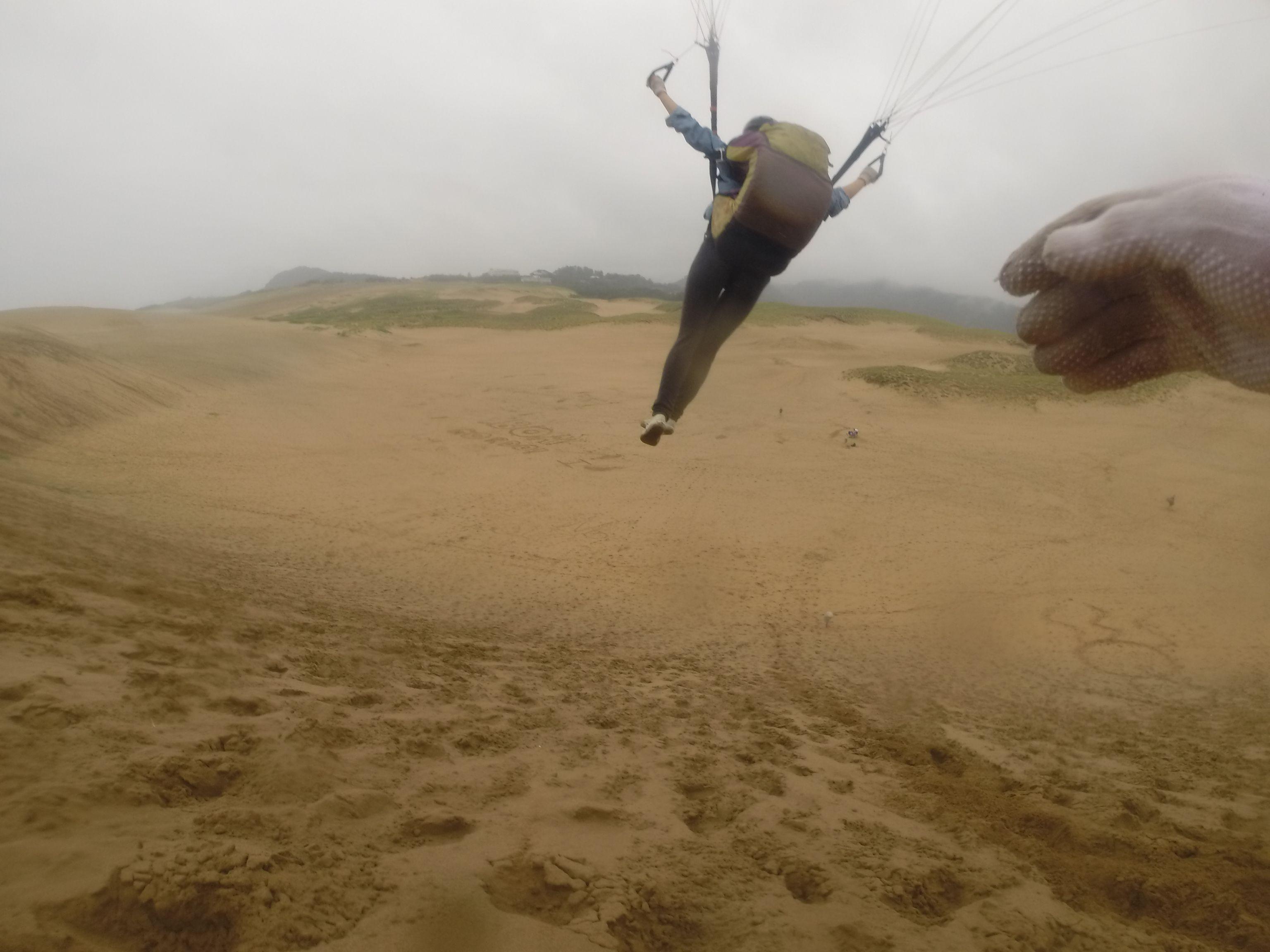 しっかり駆け抜けて大空へ飛び出せ