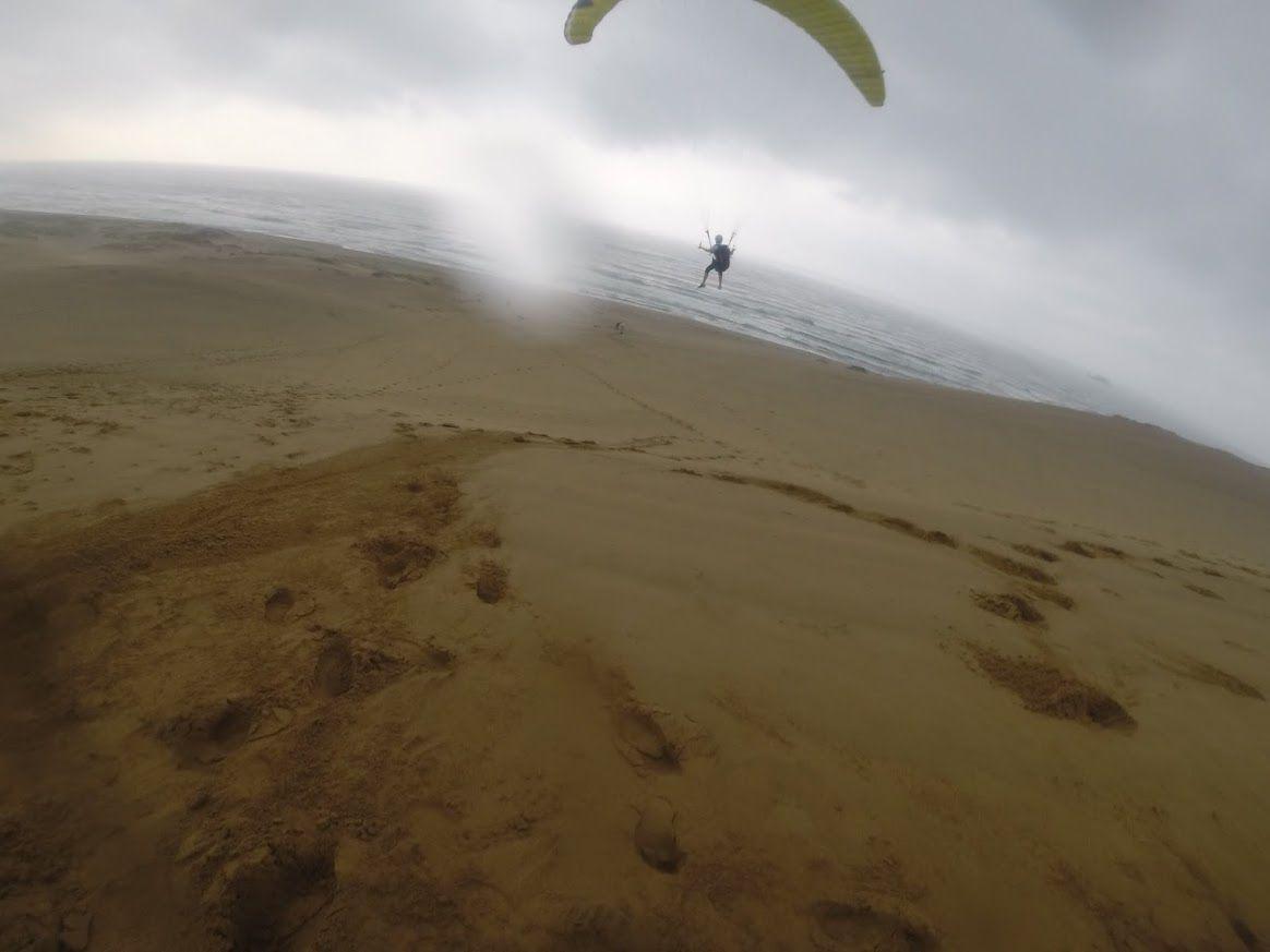 海にむかってフライト
