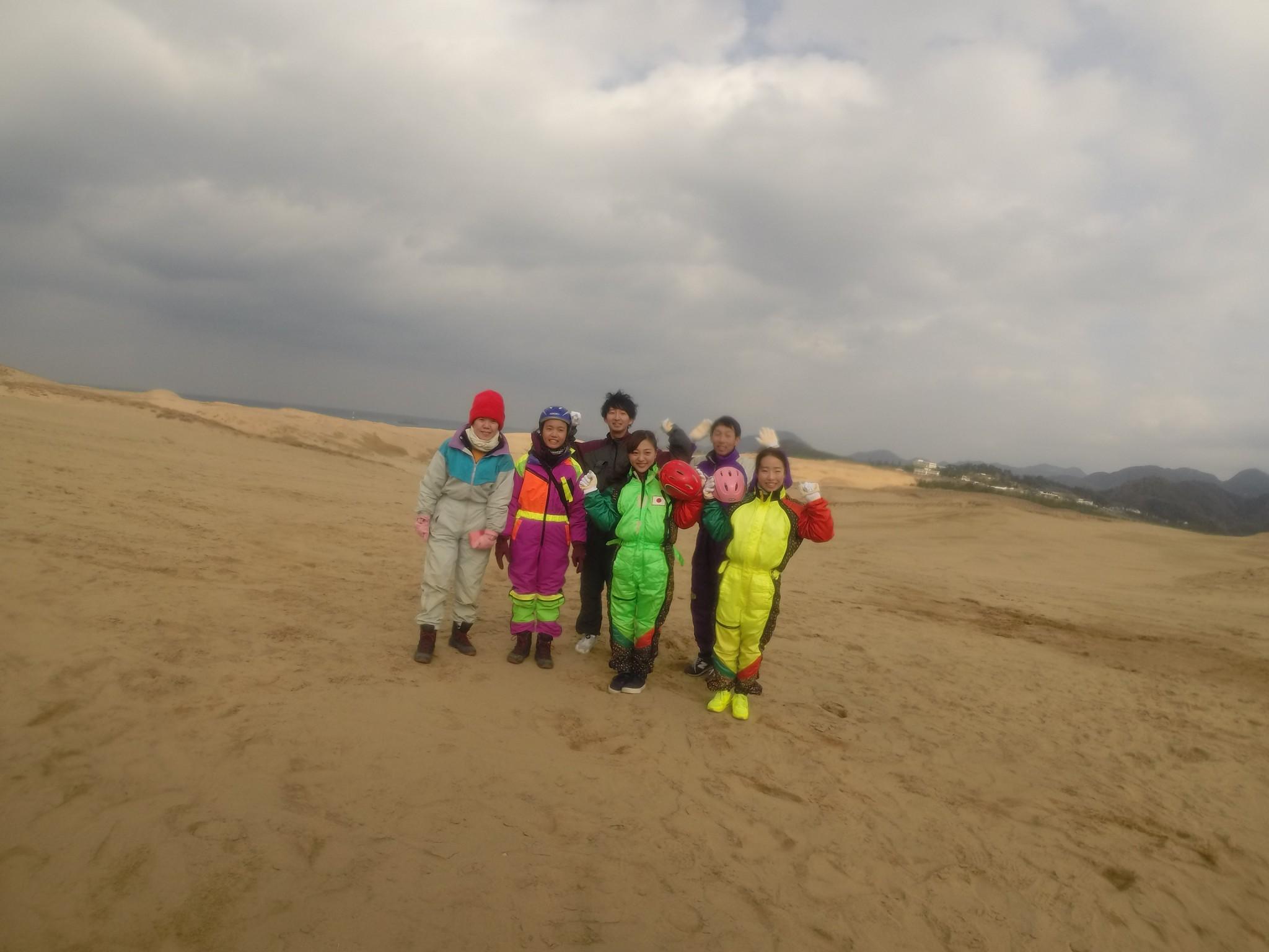 久々砂丘パラ