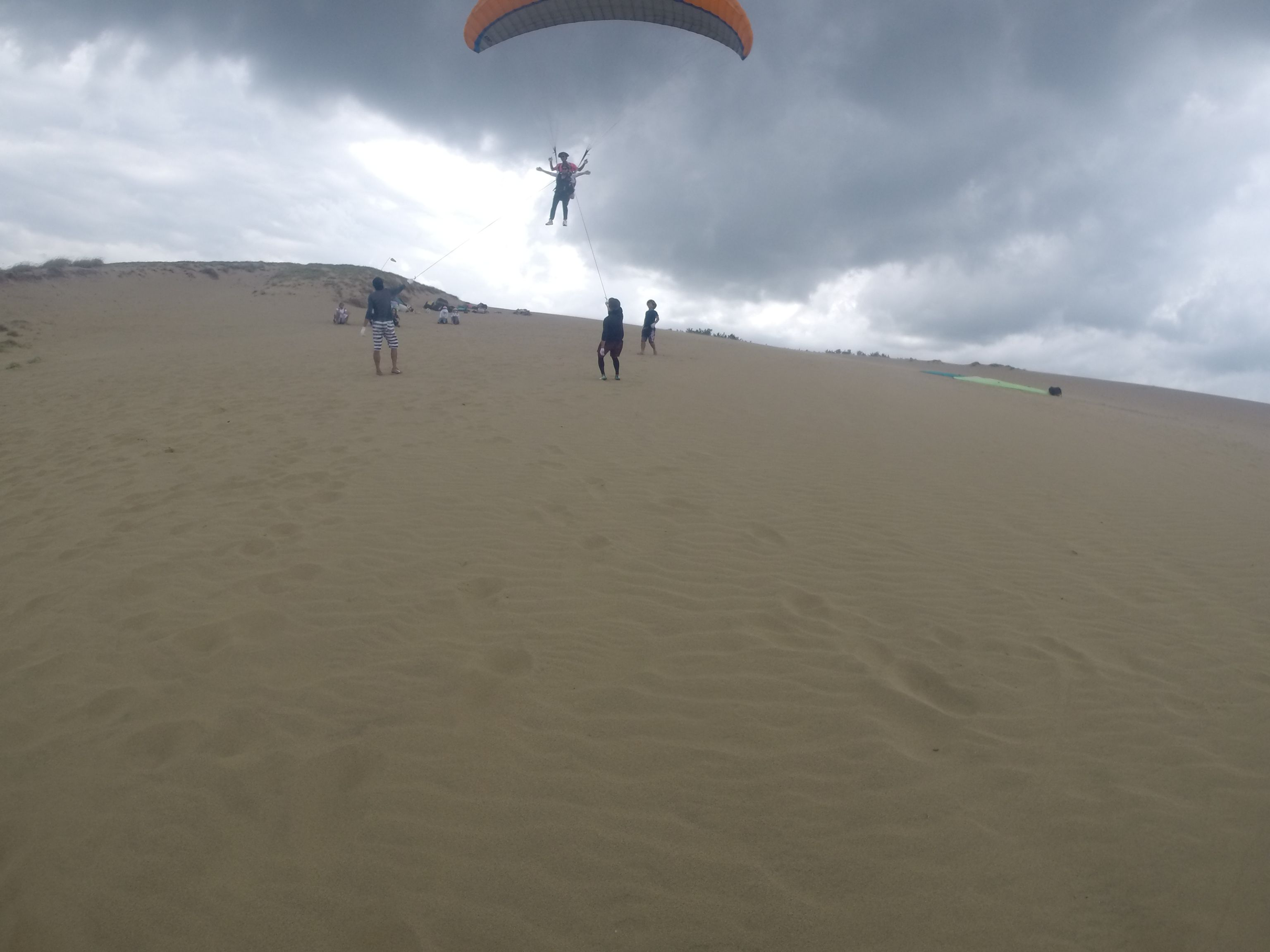 高~くから砂丘を楽しむ