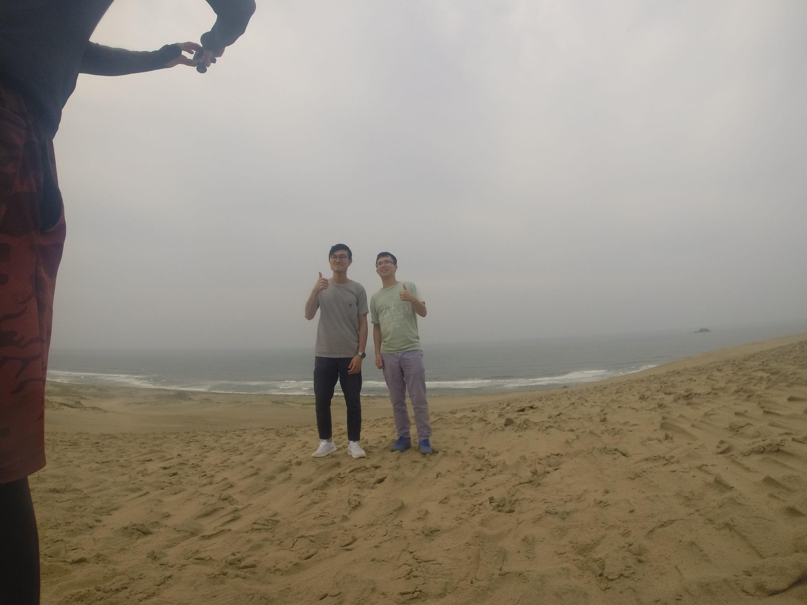 香港からのお二人さん