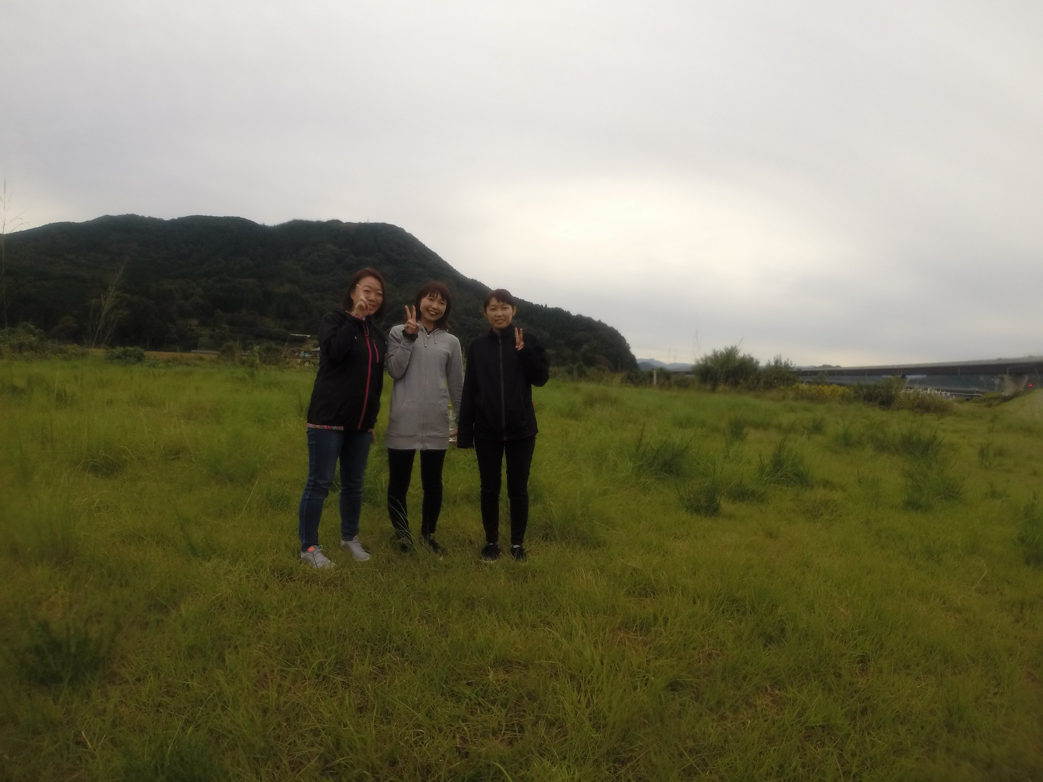砂丘と霊石山
