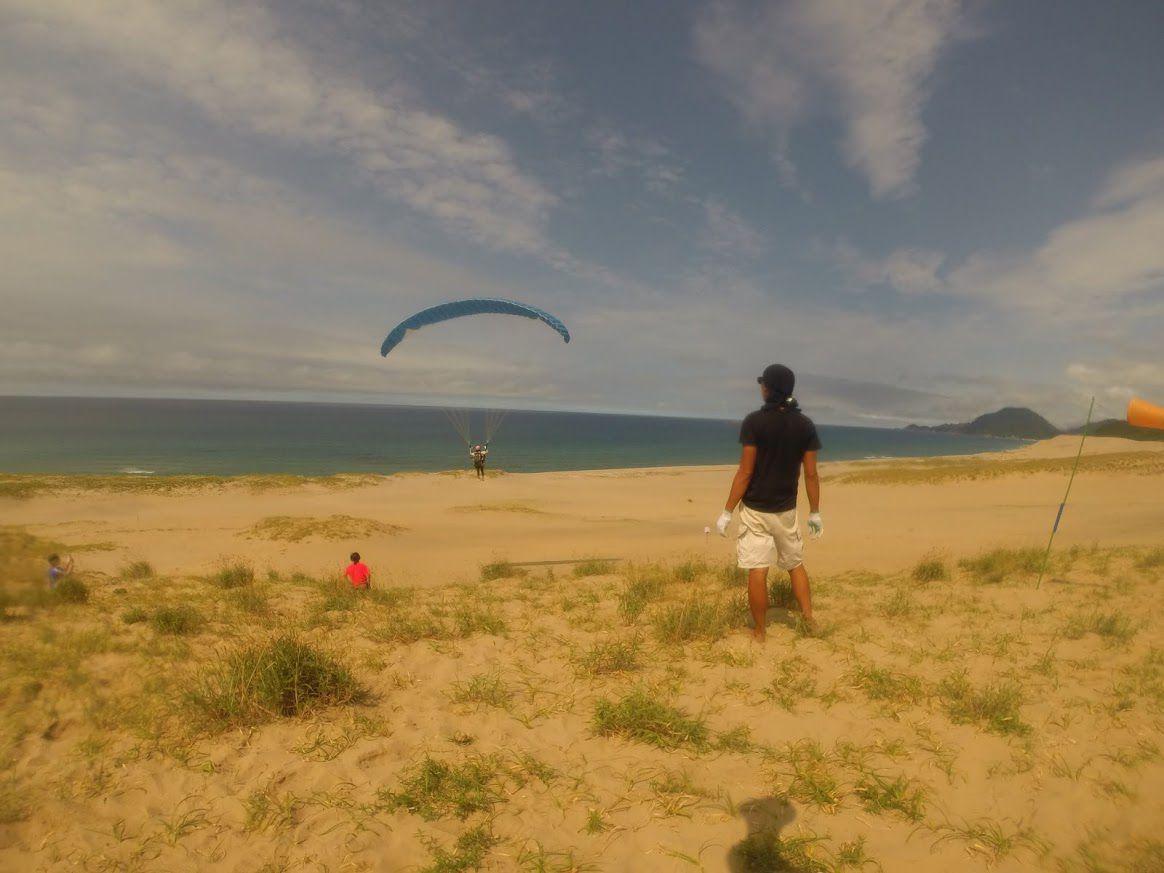 砂丘フライト
