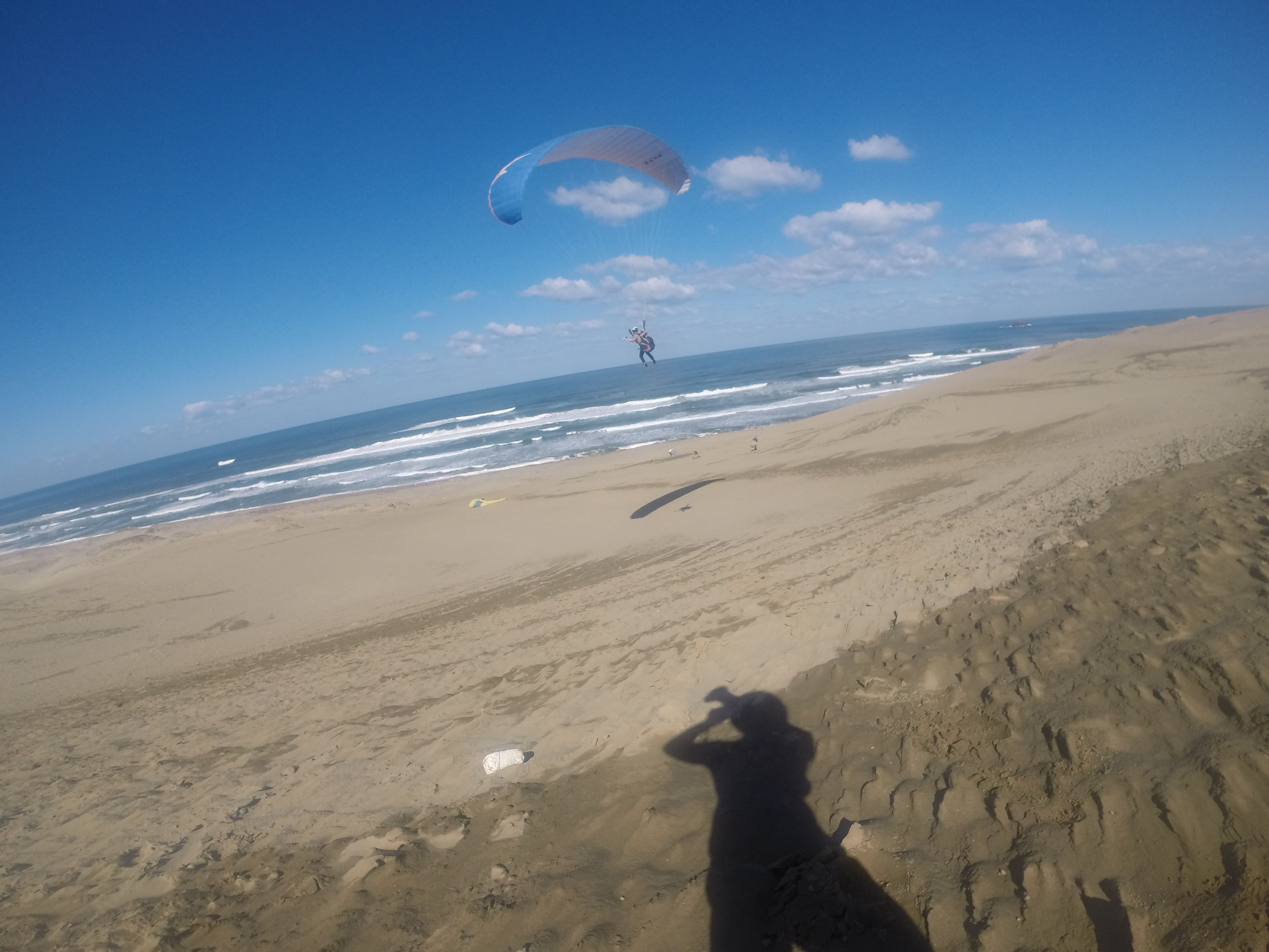 今度は海風に乗って、長めの滞空が楽しめました