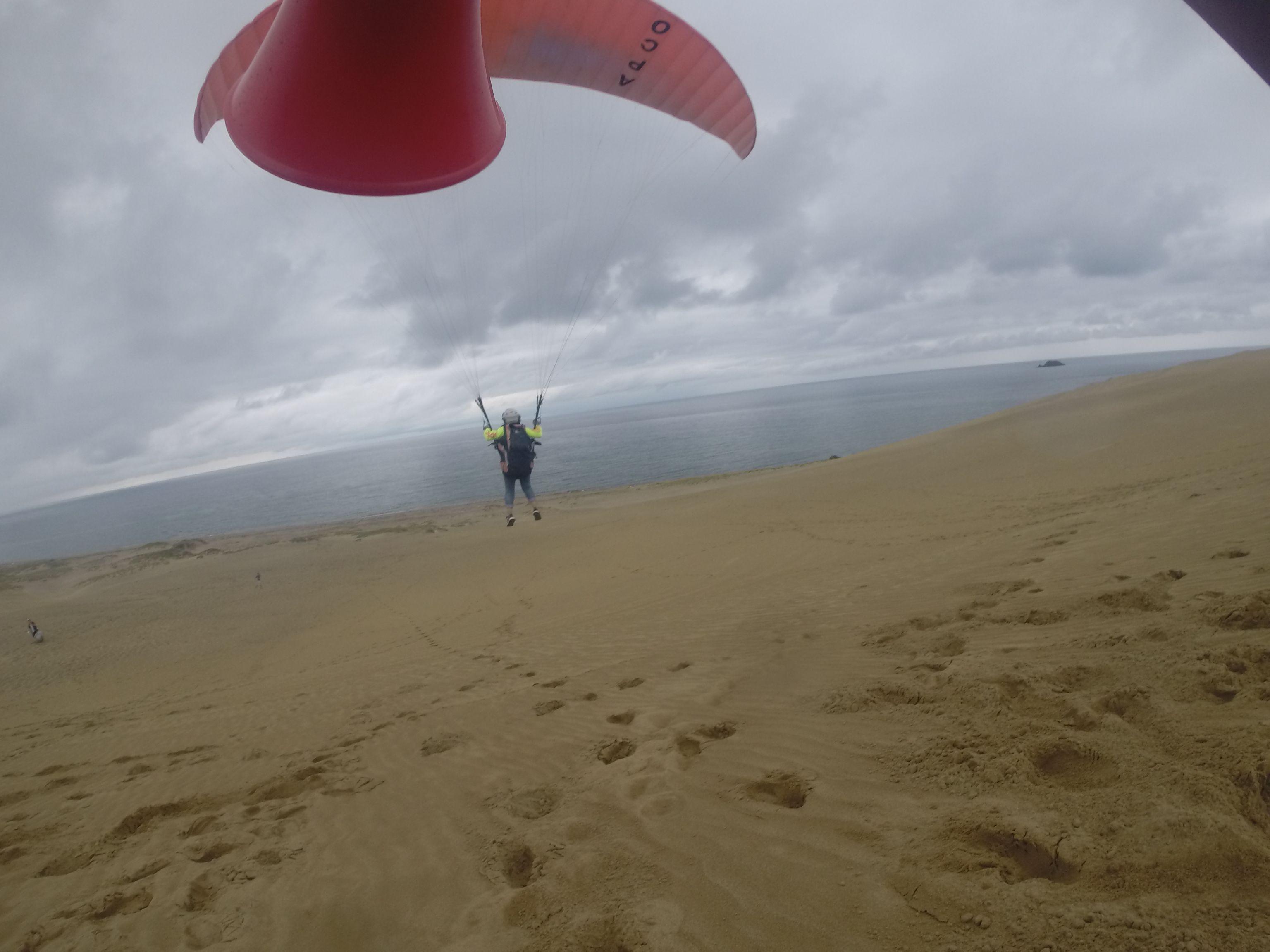 本格的な降りになるまでにたっぷり飛べました