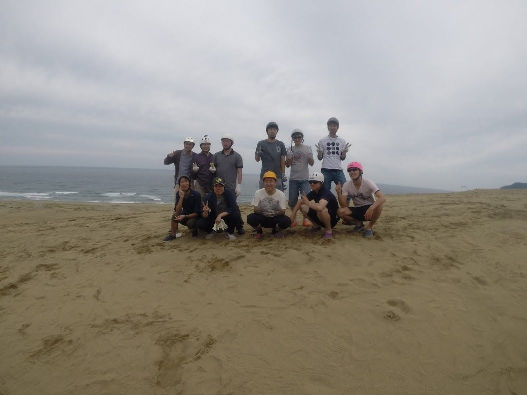 大阪から男性2グループ