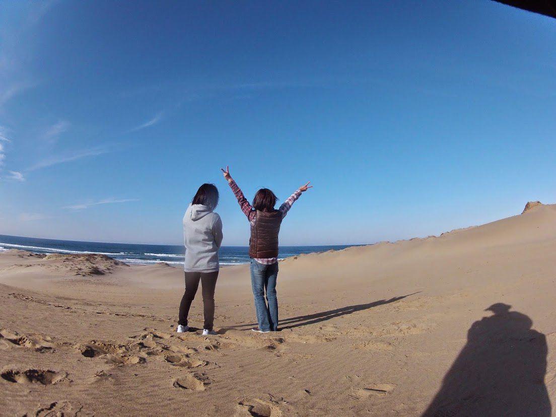 北海道砂丘パラグライダー