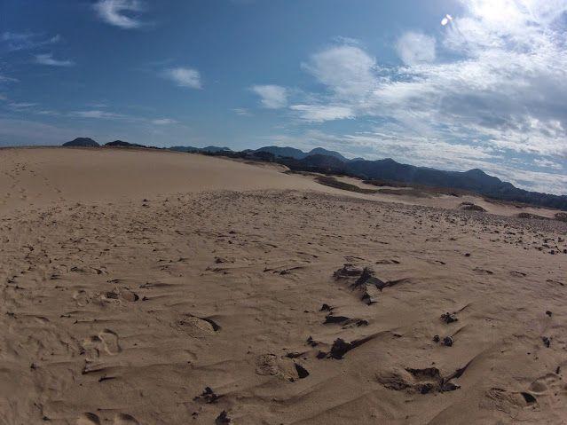 晴れの鳥取砂丘