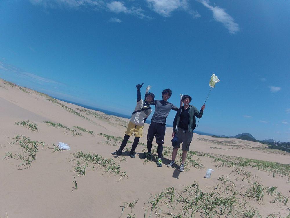 大阪から鳥取砂丘のパラグライダーに挑戦