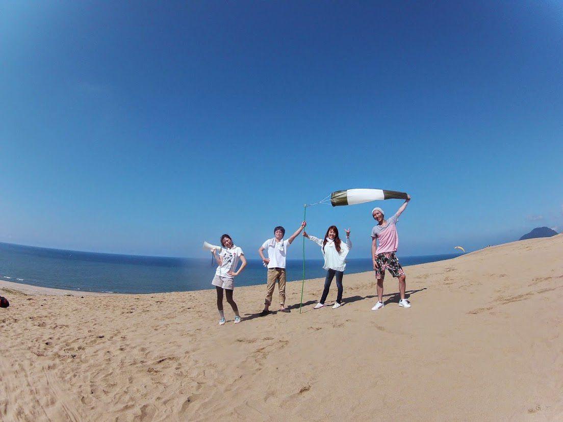 岡山砂丘パラグライダー
