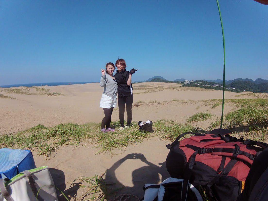 広島砂丘パラグライダー