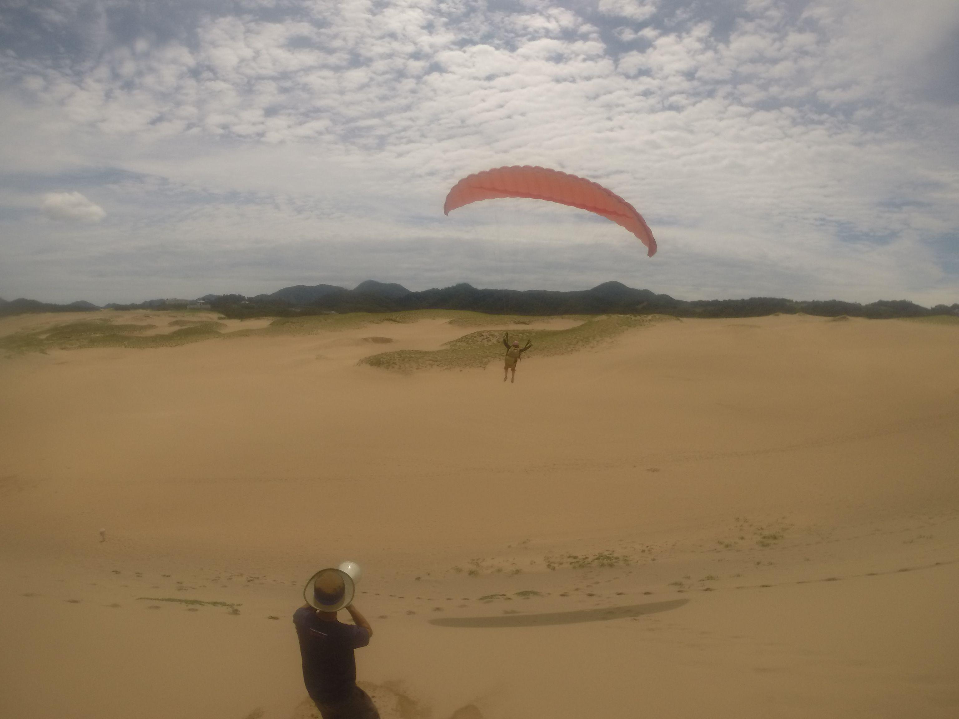 しっかり風に乗って爽快な飛行