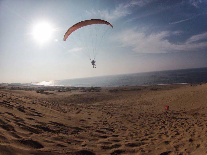 サンセット砂丘パラグライダー