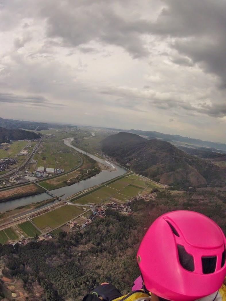 霊石山パラグライダー