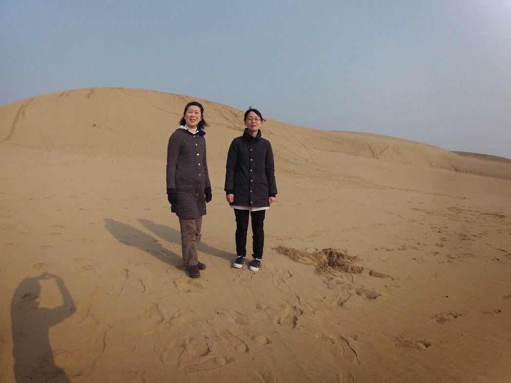 早朝琴浦鳥取砂丘パラグライダー