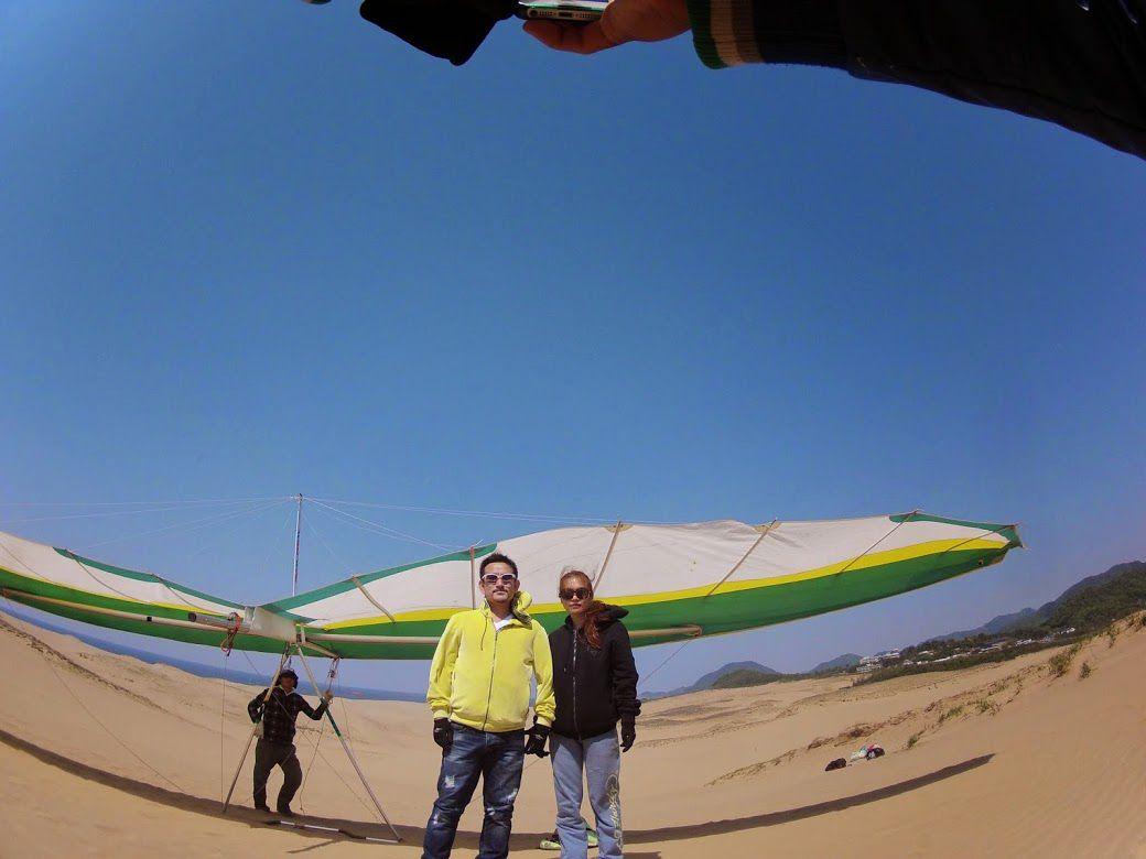 鳥取砂丘ハンググライダー