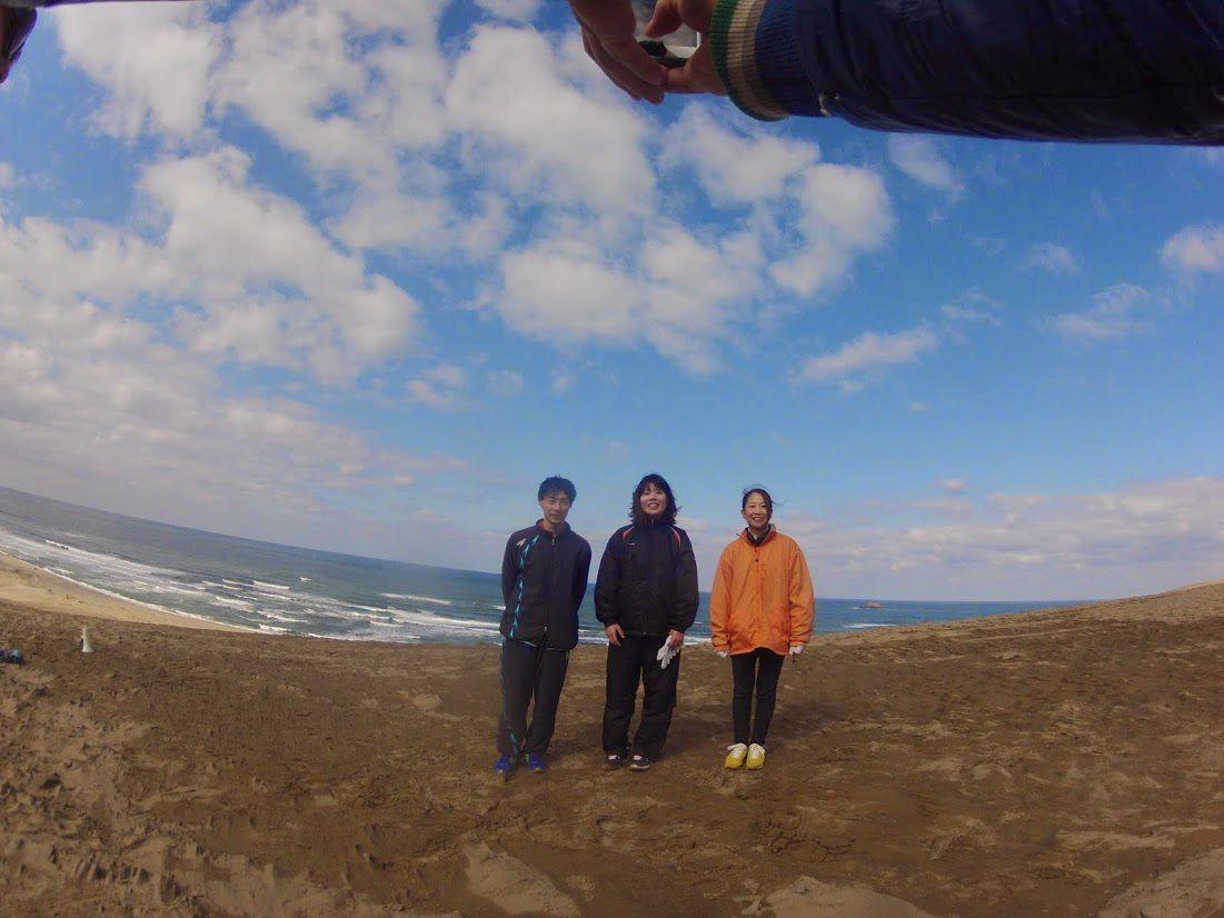 山口、長崎からのカップルと千葉から一人旅の女性