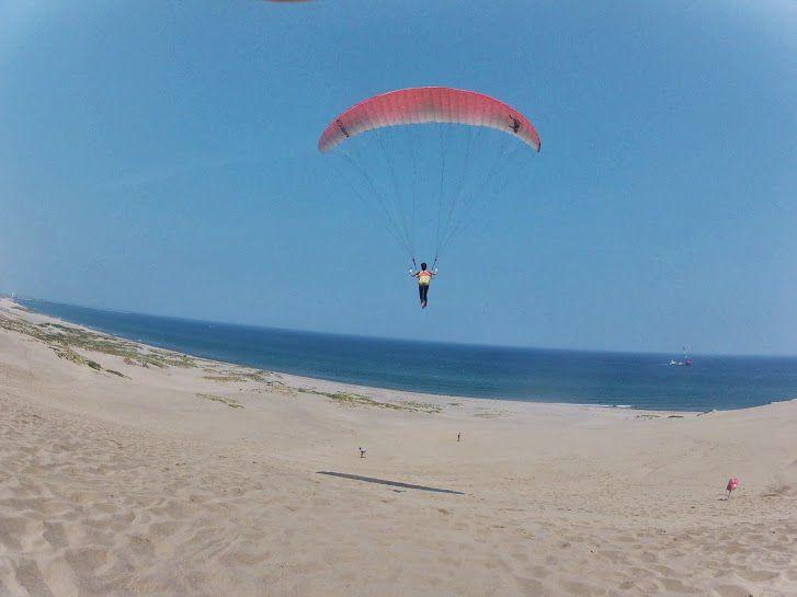 日本海砂丘パラグライダー