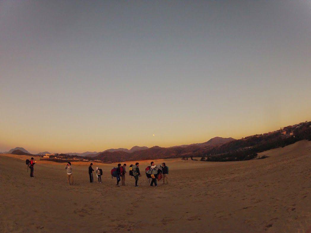 鳥取砂丘サンセットパラグライダー