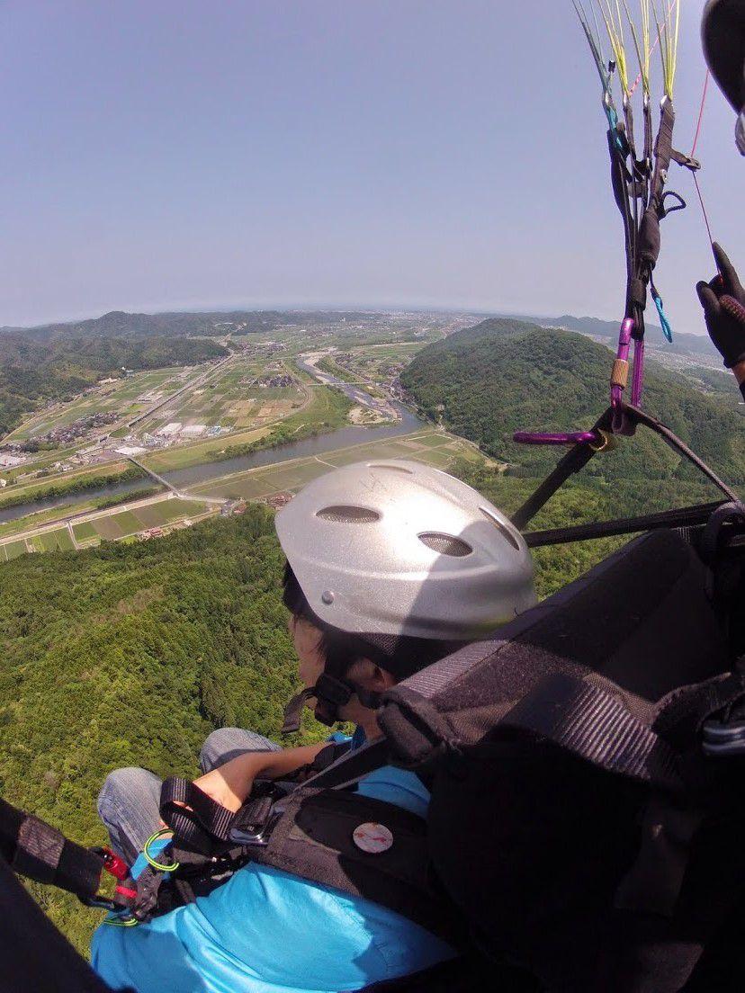 霊石山タンデムパラグライダー和歌山