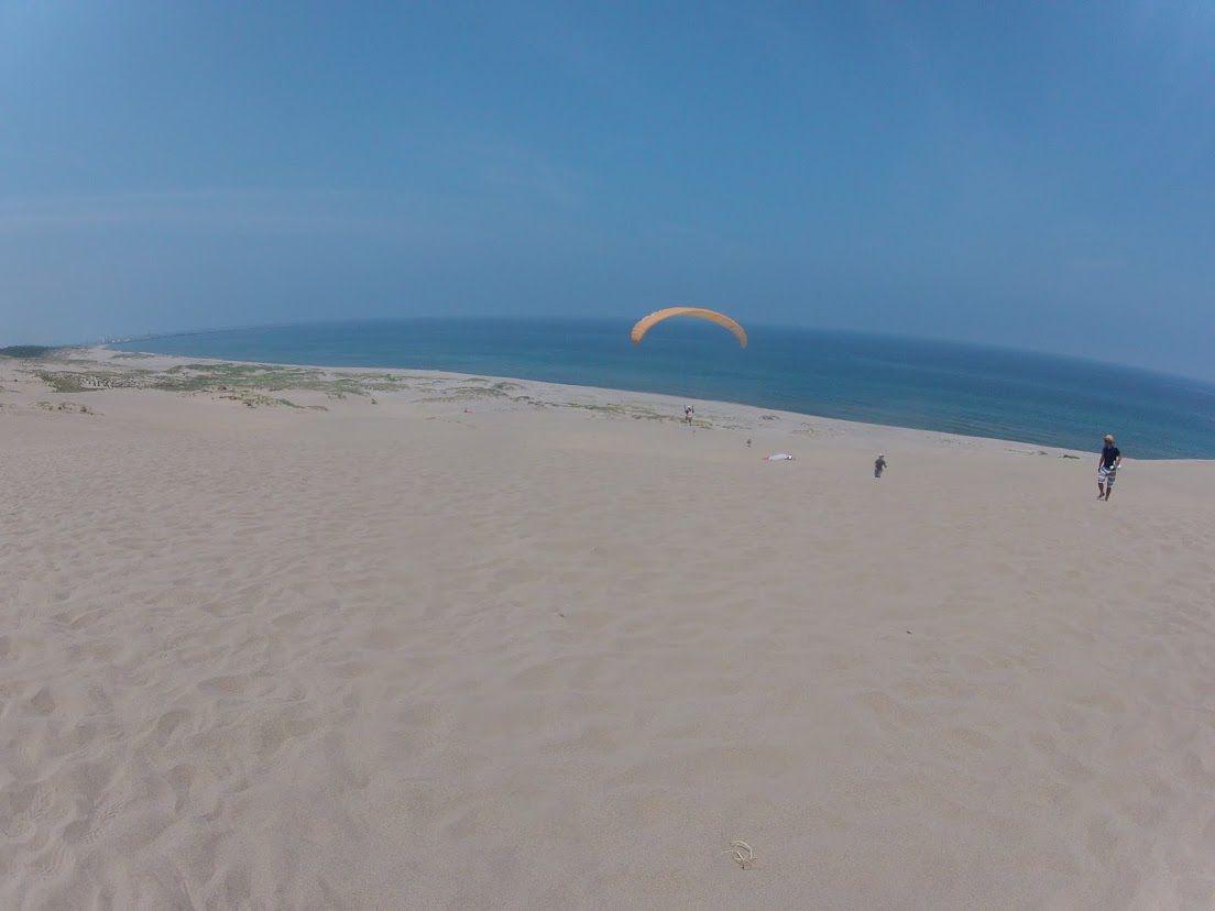 海風パラグライダー
