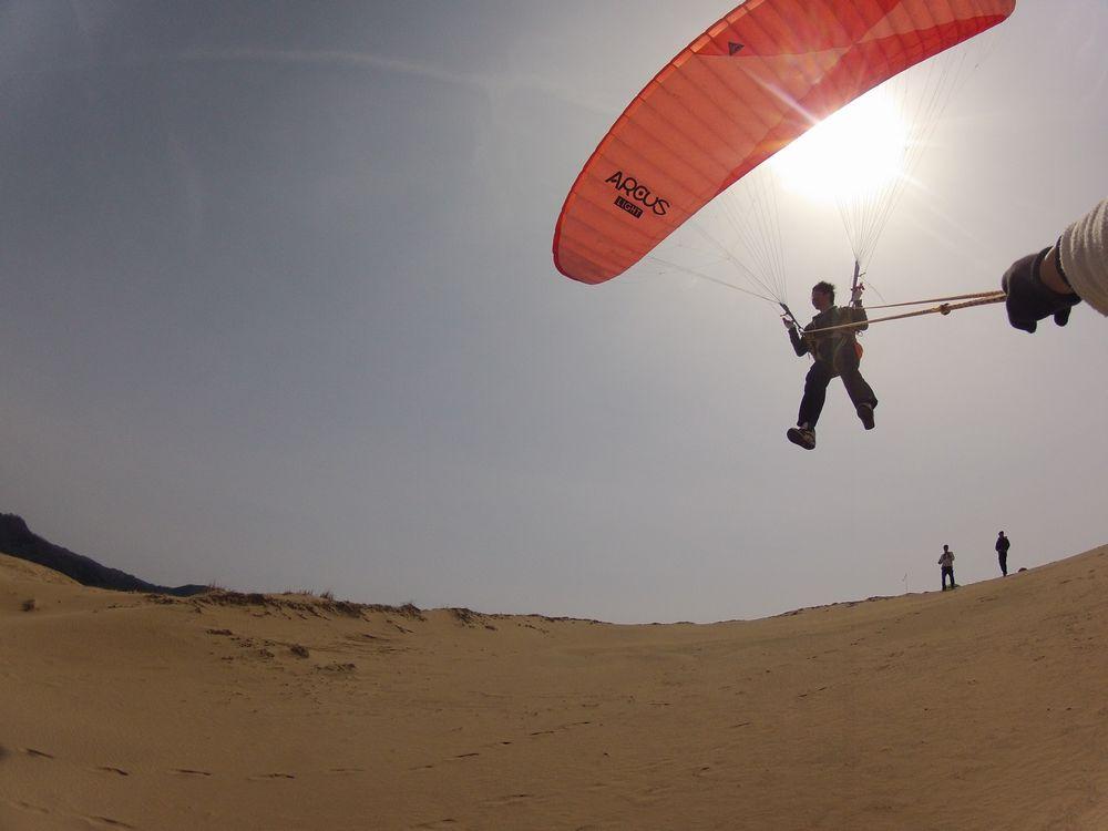 京都大学から卒業旅行でパラグライダー体験