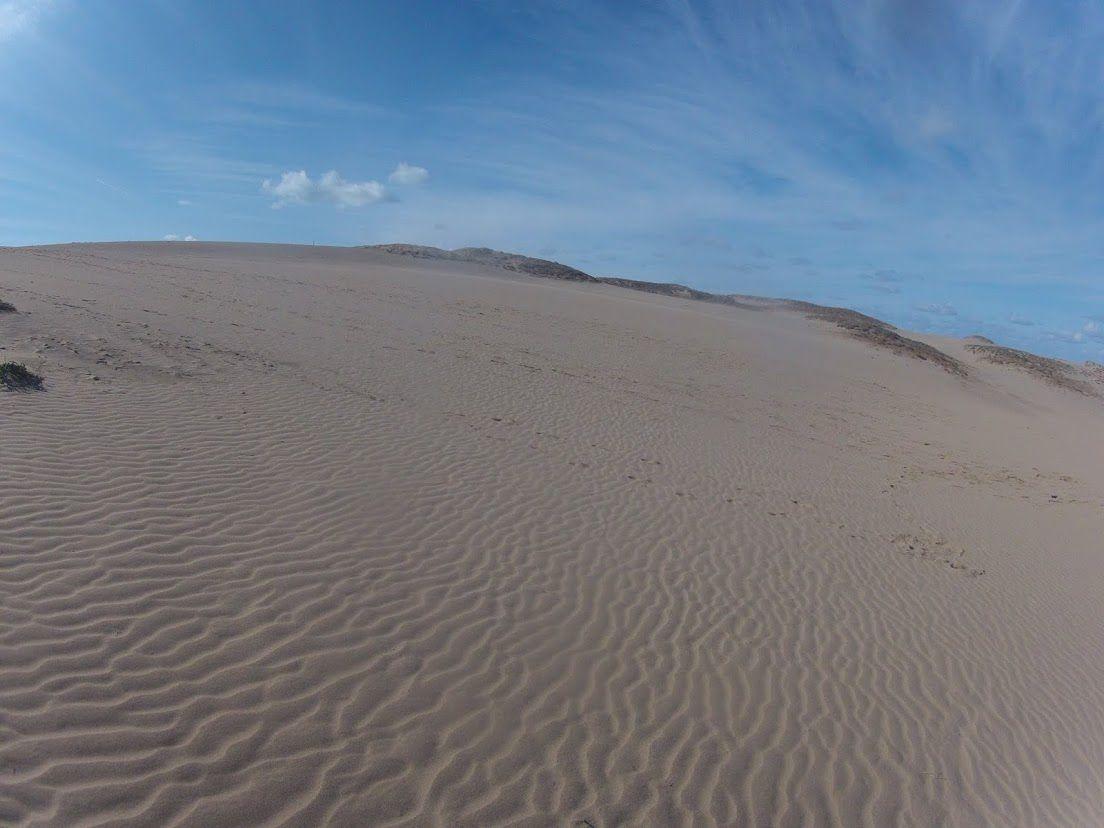 太陽が眩しかった鳥取砂丘