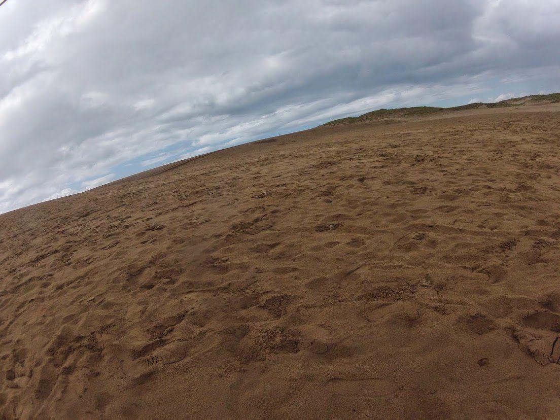 雲鳥取砂丘