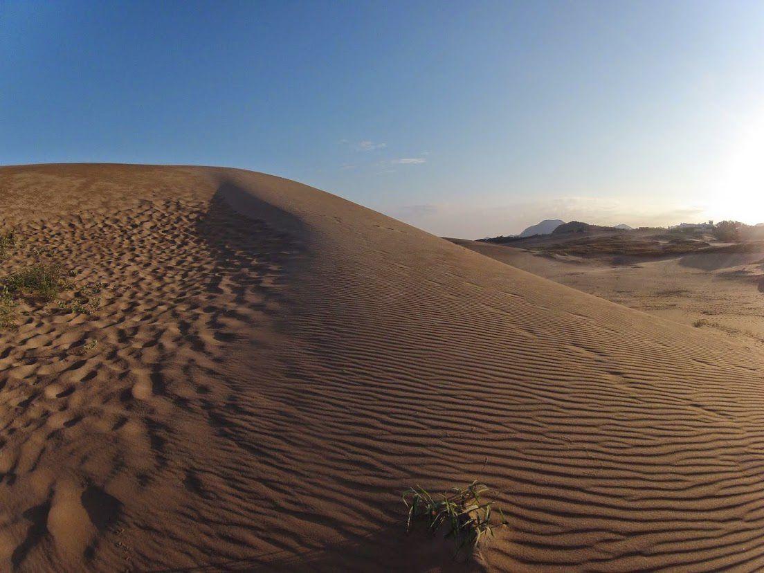 神秘的 鳥取砂丘