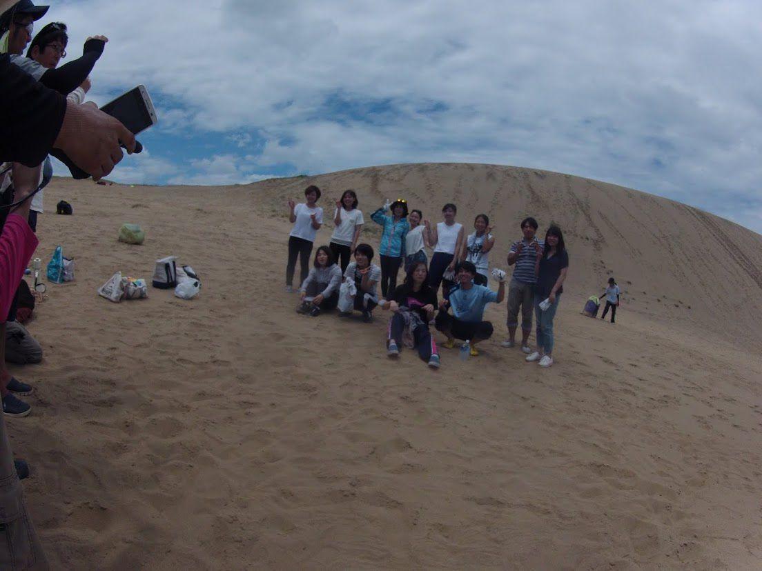 鳥取砂丘パラグライダー