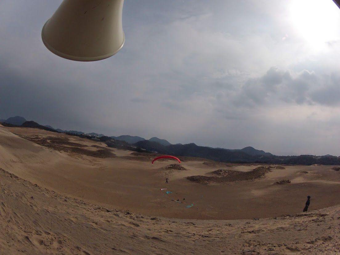 ソロフライトパラ砂丘