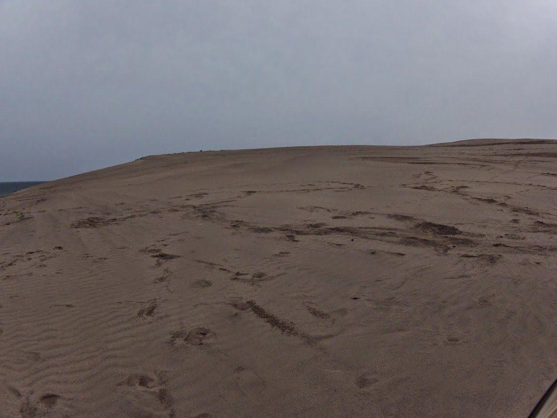 うす曇り砂丘