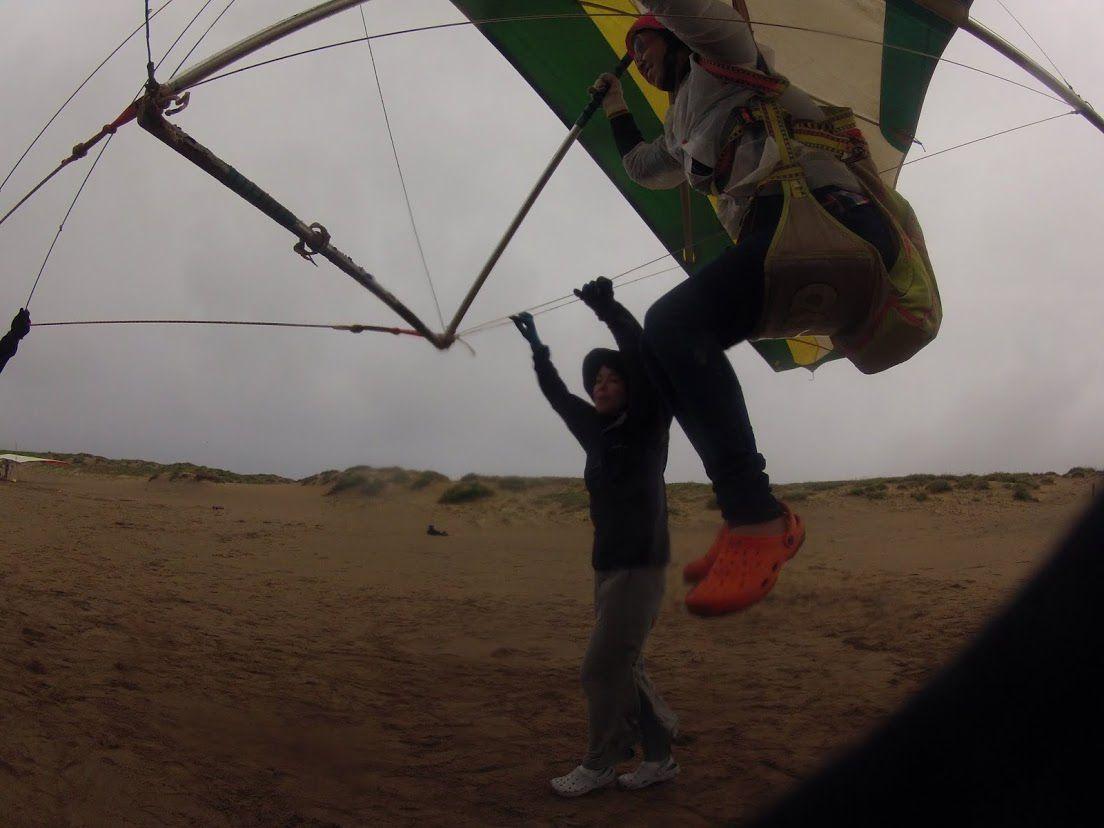 ハンググライダー体験