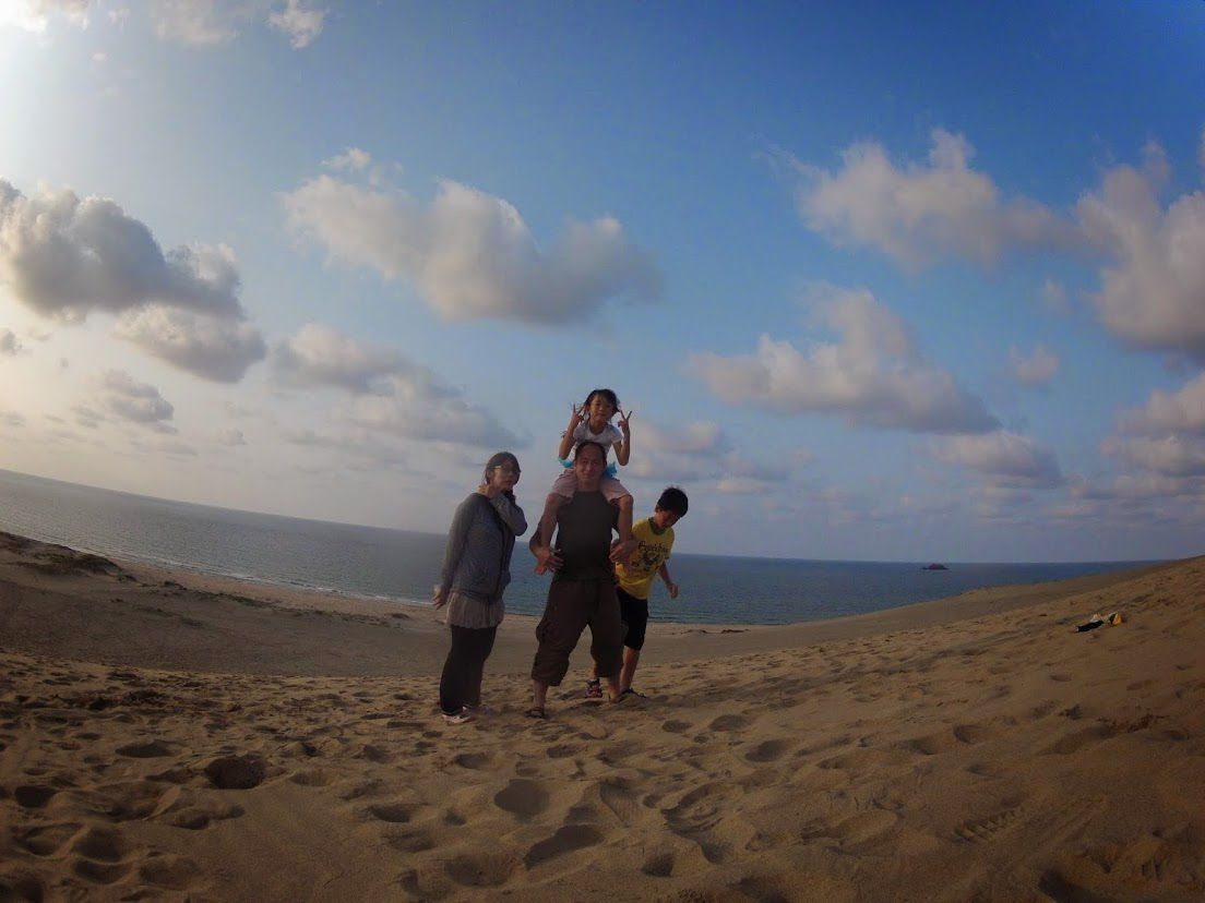 砂丘パラグライダーアナと雪の女王