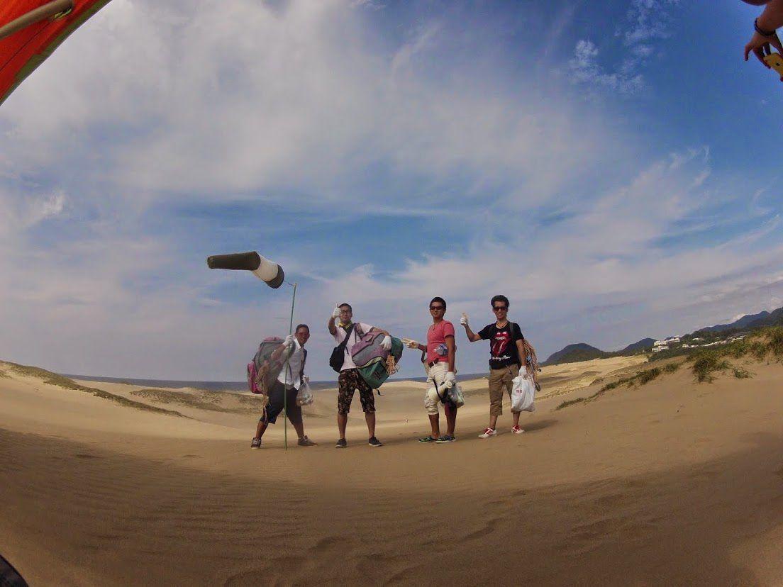 砂丘ハング+トーイング
