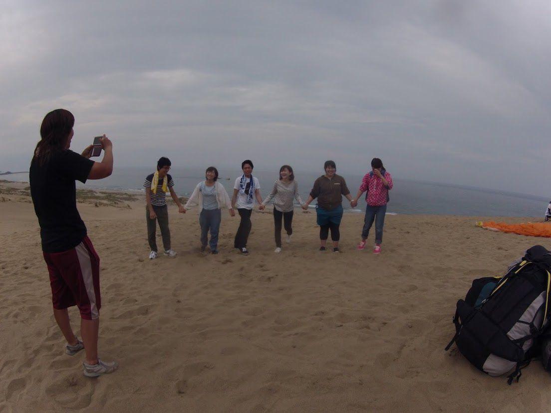 岡山からのグループ