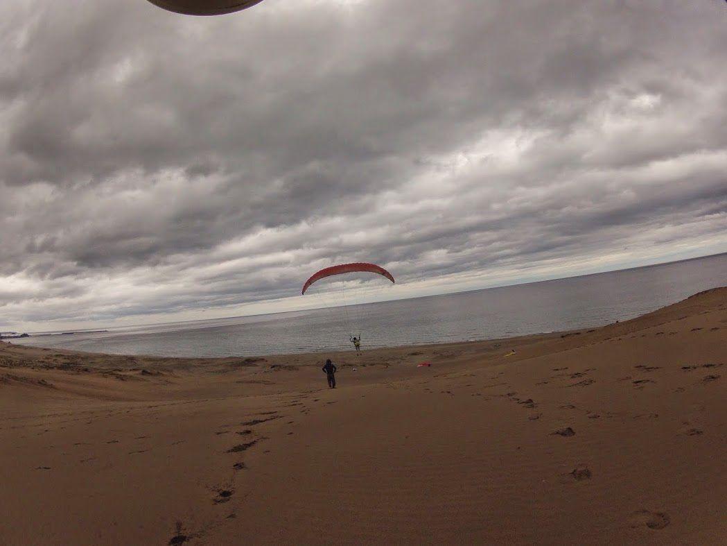 砂丘パラグライダー 怖かったけど面白い