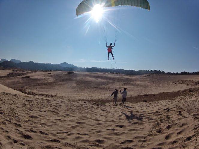 フライト開始砂丘