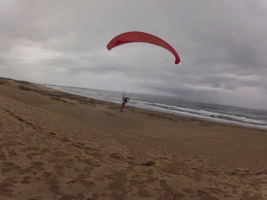 ハイペース砂丘パラグライダー