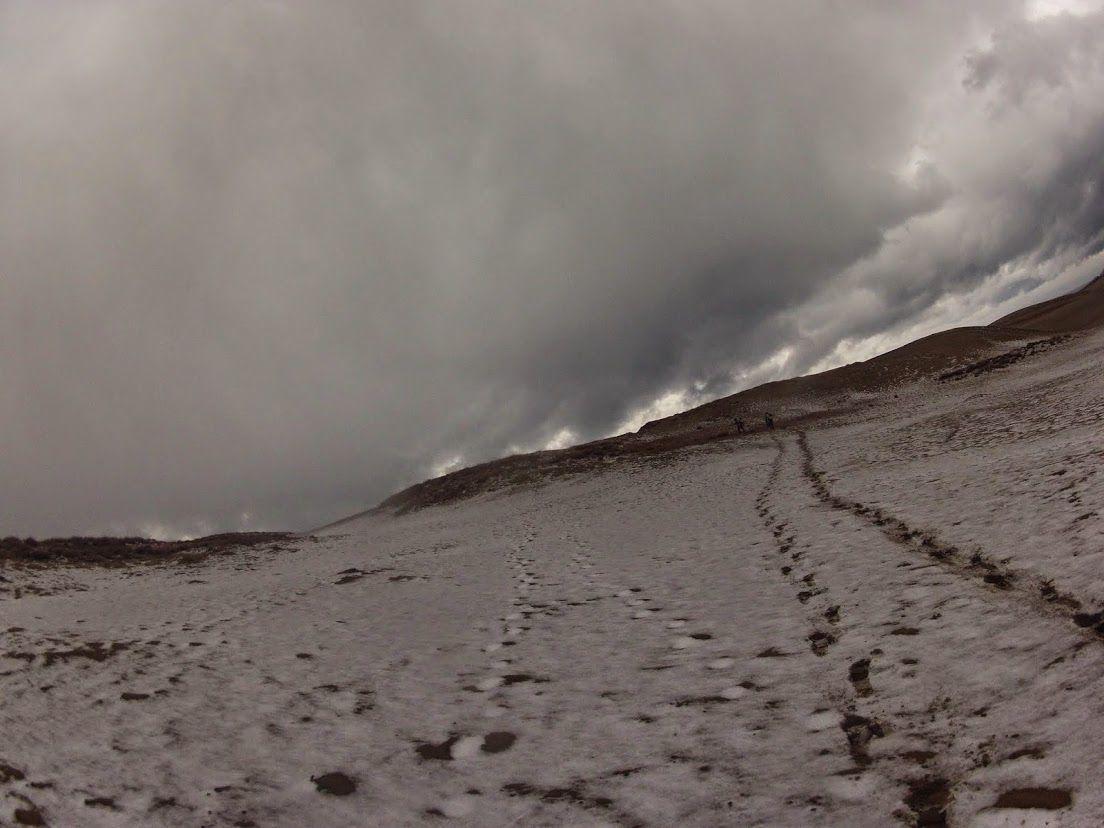 雪鳥取砂丘