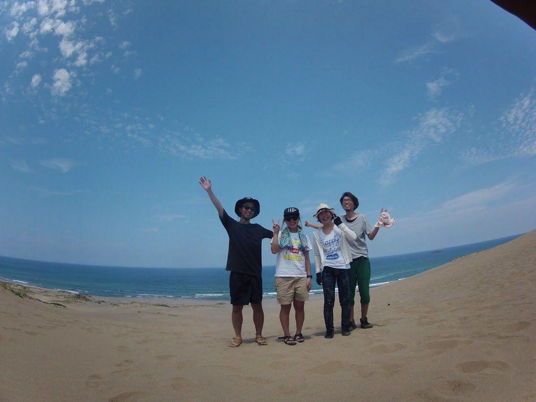 岡山と広島からカップルさんパラグライダー