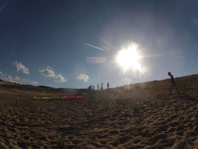 過酷な暑さに見舞われている鳥取砂丘