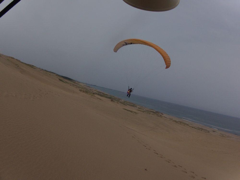 愛知から鳥取砂丘のパラグライダーに挑戦