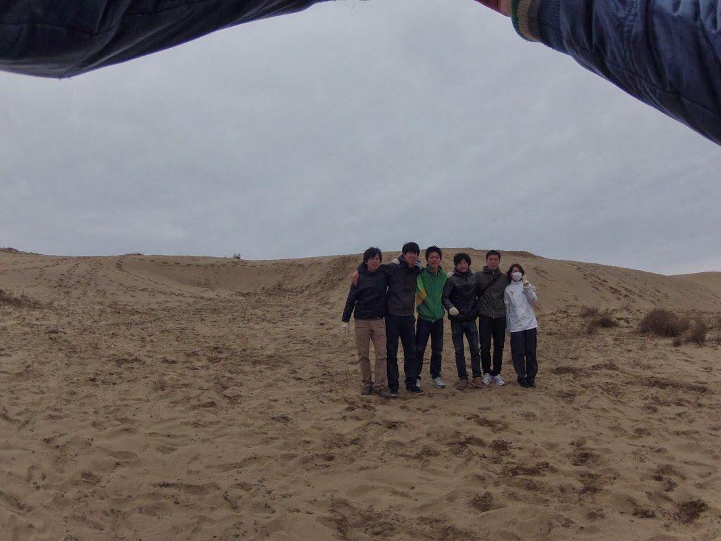 日本海海風砂丘パラグライダー