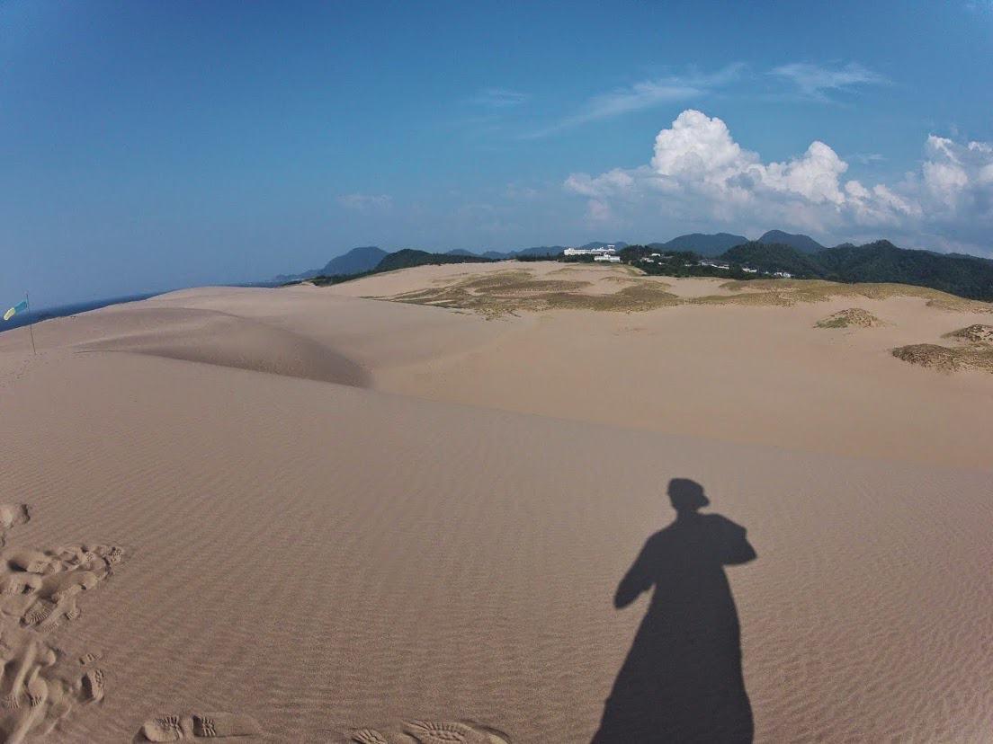 昼北東風砂丘