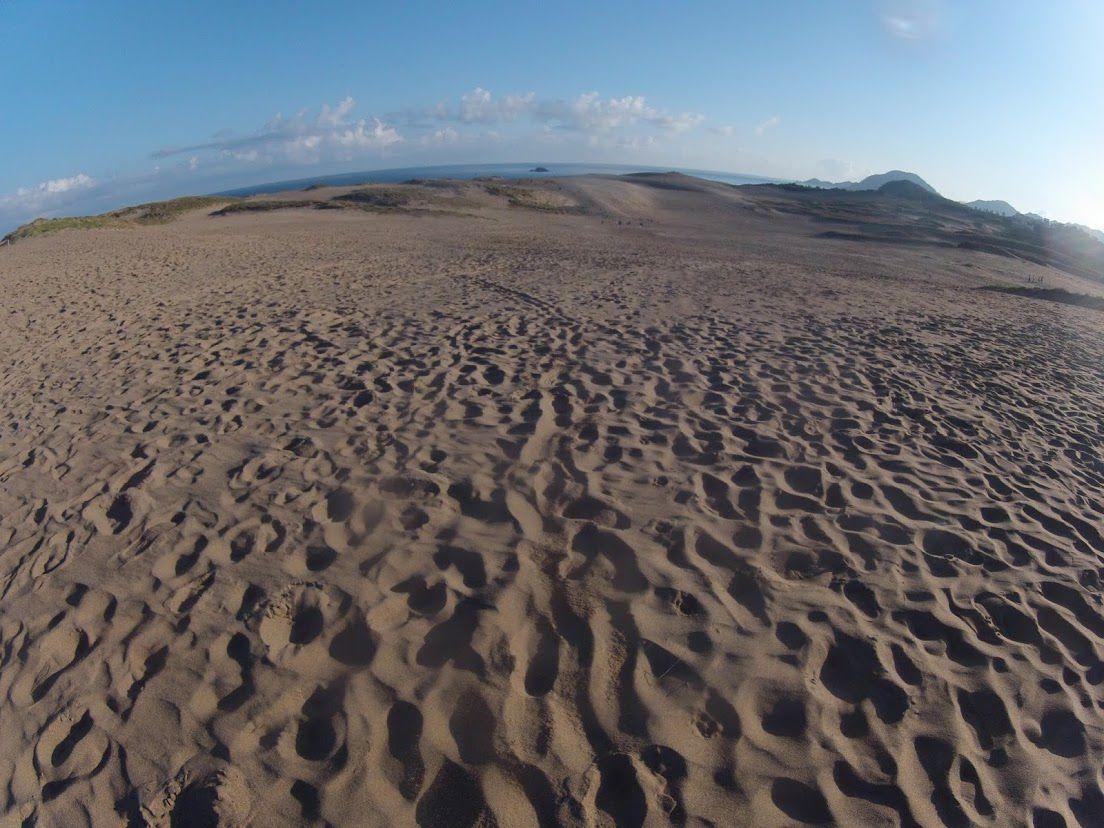 好天が続いている鳥取砂丘