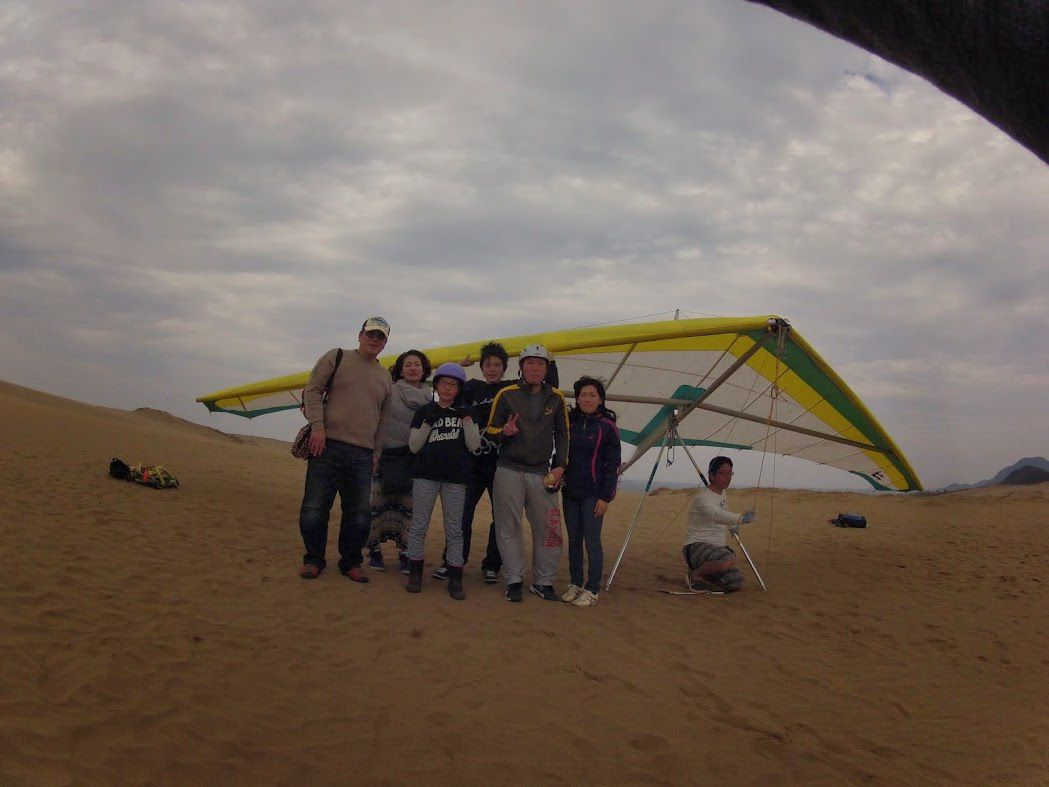 鳥取ハンググライダー