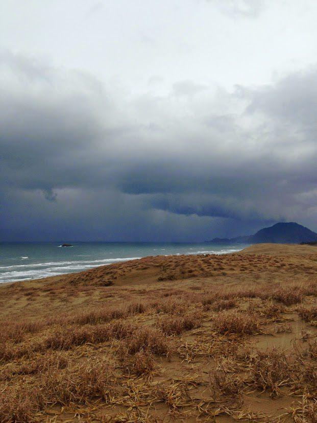 鳥取砂丘冬